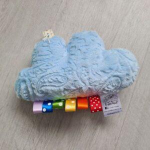 blue paisley cuddle cloud