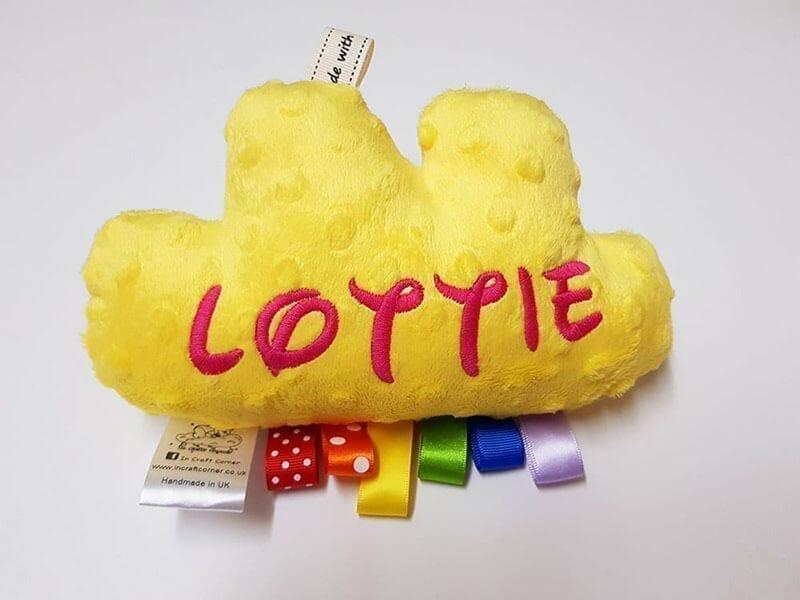 Bright Yellow Cuddle Cloud