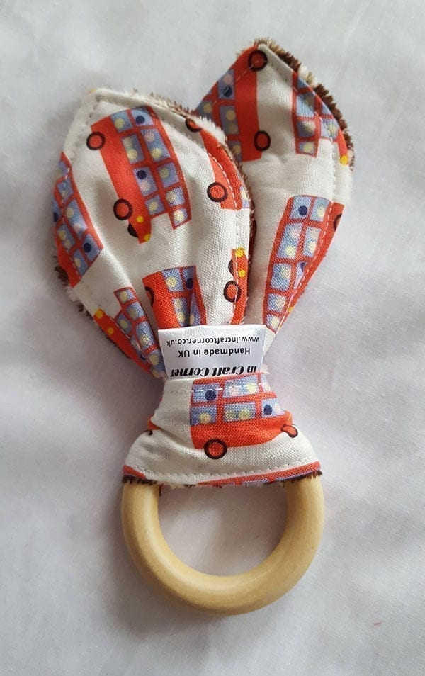 buses teething ring